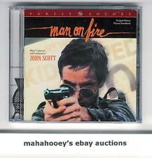 MAN ON FIRE (1987) John Scott Varese Club SOLD OUT Ltd Ed 1000 OOP CD Soundtrack