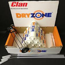 10 DRYZONE DAMP PROOFING CREAMS 310ml, WITH CAULKIN GUN, GLOVES AND DUST MASK
