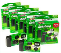 10 Pack Fujifilm QuickSnap 400 SP Single Use Disposable Camera with Flash
