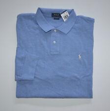 NWT Men's Ralph Lauren Long-Sleeve Polo Shirt, Blue, Classic Fit, XL, X-Large
