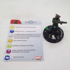 Heroclix Uncanny X-Men set Chief Magistrate #026 Uncommon figure w/card!