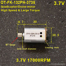 OT-FK-132PH DC 3.7V 17000RPM High Speed Motor Aircraft RC Drone Car Model Motor