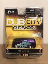 "Jada Toys Dub City OLD SKOOL 62 1962 Volkswagen VW Bus ""Joe's Diecast Shop"" 1/64"