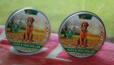 New listing 2 Pet Mob Flea & Tick Collar Dog Flea Prevention 8 Month Protection WaterProof