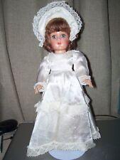 "Hard Plastic 14"" Bride Doll"