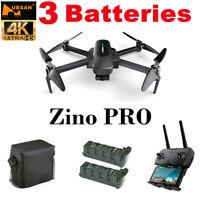 Hubsan Zino PRO FPV Drone 4K 5G Foldable Quadcopter 3AxisGimbal RTF+3Battery+Bag