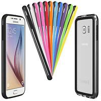Bumper für Samsung Galaxy Serie Case Cover Schutz Hülle Silikon TPU Tasche