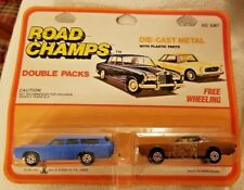 Yatming Road Champs Double Packs Ford Station Wagon Thunderbird 1/64 Die-Cast