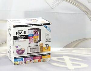 Ninja Foodi Power Pitcher 4 In 1 Blender Food Processor SS201 Auto-iQ New