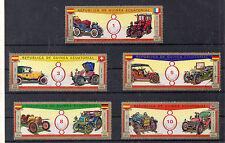 Guinea Ecuatorial Automoviles Coches Antiguos (CE-385)