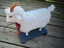 Collectible Goat Pull Toy (35 years old) - by D.Payne
