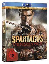 SPARTACUS: VENGEANCE, Die komplette Season 2 (4 Blu-ray Discs) NEU+OVP