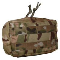 ATS Tactical Small Horizontal Utility Pouch-Multicam-Coyote-Ranger Green-Black