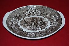 Oval Serving Dish Coaching Taverns 1928 Royal Tudor Ware Staffordshire