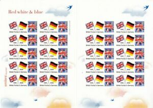 GB 2020 - 75th Anniv. of British Forces in Germany Themed Smilers Sheet - TS-583