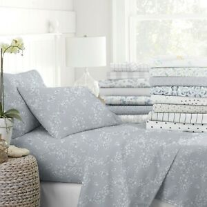 Home Collection Premium Ultra Soft Pattern 4 Piece Bed Sheets Sets