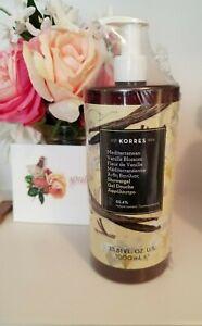 Korres Mediterranean Vanilla Blossom Shower Gel  33.81 fl oz New & Sealed
