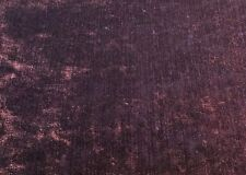J BROWN FABRIC  MODENA - PURPLE CRUSHED UPHOLSTERY VELVET 2.30 METRES