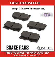 BRP1549 3992 FRONT BRAKE PADS FOR FIAT QUBO MULTIJET 1.3 2010-