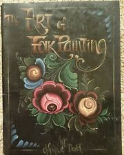 ART OF FOLK PAINTING By Jo Sonja & David Decorative Tole Painting Book 1990 Vtg