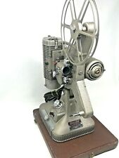 Vintage 1950's Keystone Regal K-109 8mm Movie Projector w/ Carrying Case - Works