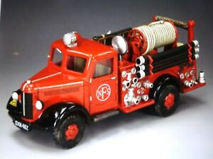king & country FOB107 54mm ww2 England 1939 Bedford fire engine 2014 mib oop