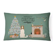 """Caroline's Treasures Christmas Everyone Canvas Fabric Decorative Pillow Pati."
