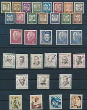 Germany BERLIN ISSUES (1957-1969); MNH ALL DIFFERENT; COMPLETE SETS