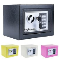 DIGITAL ELECTRONIC SAFE SECURITY BOX WALL JEWELRY GUN CASH Home OFFICE HOTEL