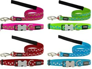 ~ Red Dingo STAR Collar / Lead | Dog / Puppy | Sizes XS - LG | Soft & Strong ~