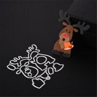 Stanzschablone Elch Weihnachten Neujahr Hochzeit Oster Einladung Karte Album DIY