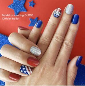 Dashing Diva Gloss Ultra Shine Gel Nail Strips 34 Strips Self Adhesive Vote