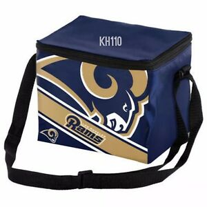 NFL Los Angeles Rams 2019 Insulated Lunch Bag Cooler (6 Pack)