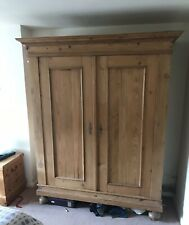 More details for antique pine wardrobe