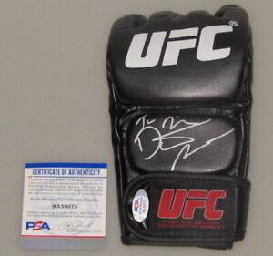 DUSTIN 'The Diamond' POIRIER UFC   Hand Signed GLOVE  + PSA COA