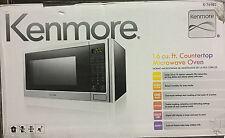 Kenmore 1.6 cu. ft. Countertop Microwave1100 Watts Stainless Steel 76983