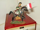 Britains 36069 Waterloo, French 3rd Lancers Trooper on Rearing Horse 1 in 54mm.