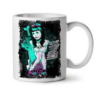 Day Of Dead Emo NEW White Tea Coffee Mug 11 oz | Wellcoda