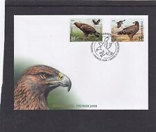 Belarus 2016 Eagles birds joint issue with Azerbaijan FDC Belarus pictorial h/s