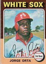 1975 Topps Mini #184 Jorge Orta Chicago White Sox (2018-0746)