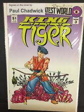 King Tiger Dark Horse Comics Signed/Autographed By Paul Chadwick Issue#3