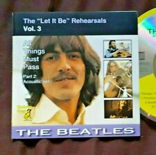 THE BEATLES Let It Be Rehearsals Vol. 3 All Things Must Pass 2  Yellow Dog 1994