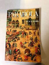 PARABOLA: The Magazine of Myth and Tradition   Vol. XXI No. 4  Winter 1996