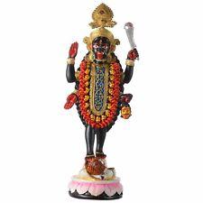 "Kali Maa Mata Poly Resin Idol Statue Idol Figurine Hindu God 12.5""Inches H"