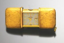 LADIES 14k GOLD MOVADO PURSE WATCH WITH DATE - TRIPLE SIGNED MOVADO