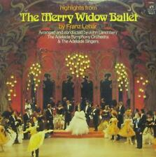 Lehar(Vinyl LP)The Merry Widow Ballet-Angel-S 37092-US-Ex-/NM
