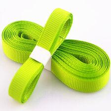 "5yds 3/8"" (10 mm) Dark green Solid Christmas Grosgrain Ribbon Hair Bows Ribbion"