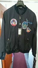 A Brand New Dolce & Gabbana Jacket @Look@new with Tags Bomber Jacket PC