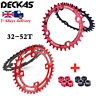 UK MTB Bicycle Chainring & Bolts 104BCD 32T-52T Narrow Wide Cycling Sprocket