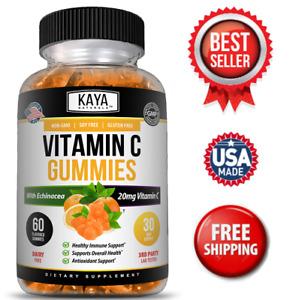 Immune Support Gummies, Zinc, Vitamin C & Echinacea, Great Flavored Gummy